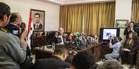 Photo of Mikdad: Terrorist organizations, their backers responsible for chemical weapon use in Syria