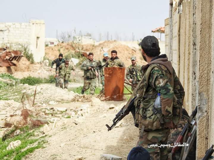 Photo of Syrian Army retakes majority of Jisreen farms in Ghouta amid collapse among al-Nusra terrorists