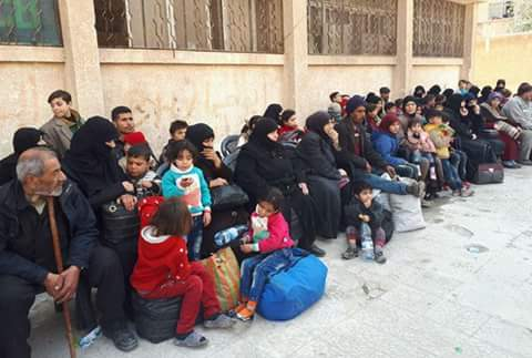 Photo of Syrian Army secures exit of a number of families from Eastern Ghouta through al-Wafideen safe corridor