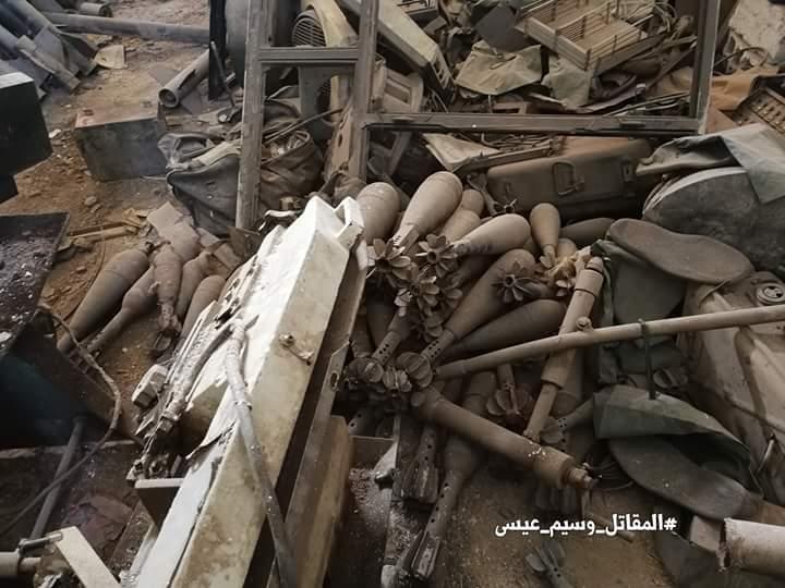 Photo of بالصور- الجيش يسيطر على ثلاث معامل لتصنيع القذائف بالغوطة الشرقية