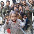 عمليات عسكرية مكثفة بحرستا وزملكا وحزة بالغوطة الشرقية