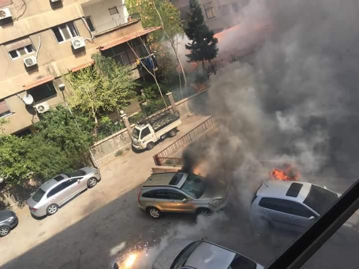 Photo of بالصور- قذائف إرهابية على شارع فارس خوري