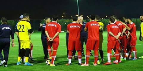 Photo of Syrian national football team aspires to win 2018 International Friendship Championship in Baghdad