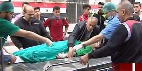 Photo of Player of al-Jaish football team martyred, seven others injured in rocket shell attack on Damascus