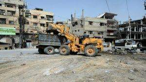 Photo of Rehabilitation of damaged infrastructure starts in secured towns in Eastern Ghouta