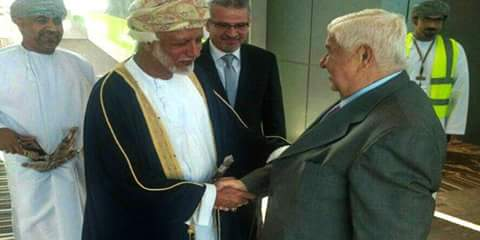 Photo of Al-Moallem arrives in Muscat to discuss regional developments, relations