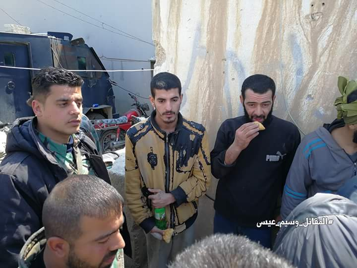 Photo of Syrian army frees 8 abductees were held by terrorist groups in eastern Ghouta