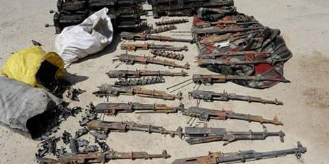 Photo of Syrian Army discovers arms depot for terrorists in Ain Tarma, Eastern Ghouta