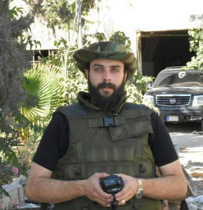 Photo of Military correspondent Hasan Ali Badran martyred in Eastern Ghouta