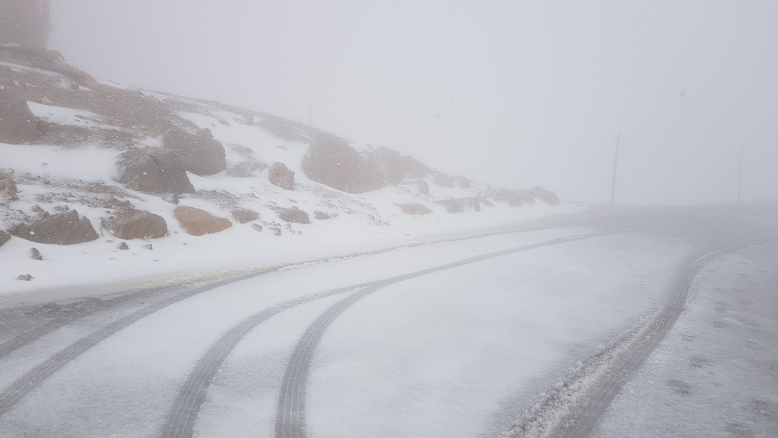 Photo of ثلوج جبل الشيخ هذا الصباح (فيديو)
