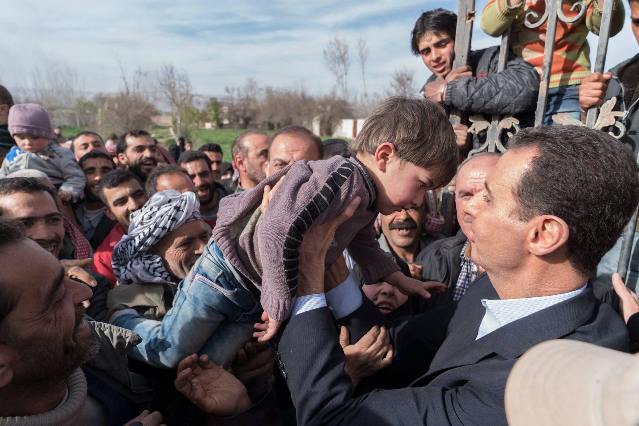 Photo of حديث الرئيس الأسد لأهالي الغوطة (فيديو)