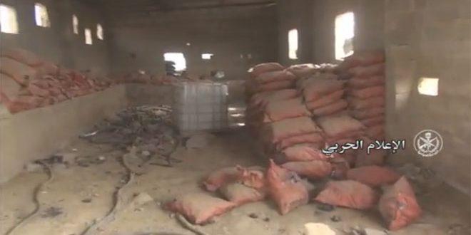 Photo of أسلحة اسرائيلية بحرستا وأخرى كيميائية بدير الزور