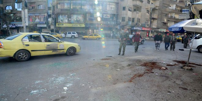 Photo of إصابة مدنيين بينهم أطفال باعتداءات إرهابية بدمشق