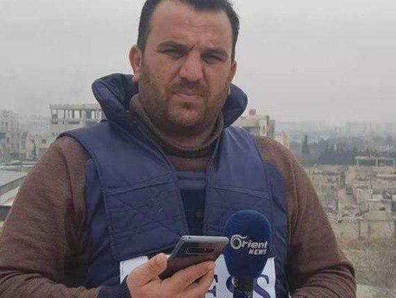 "Photo of مراسل قناة ""أورينت"" بالغوطة يسلم نفسه للجيش"