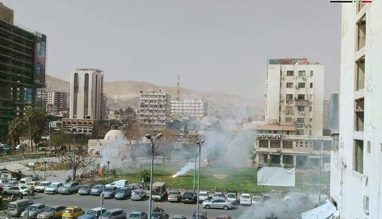 Photo of Four martyred, 14 injured in terrorist rocket attacks on Damascus