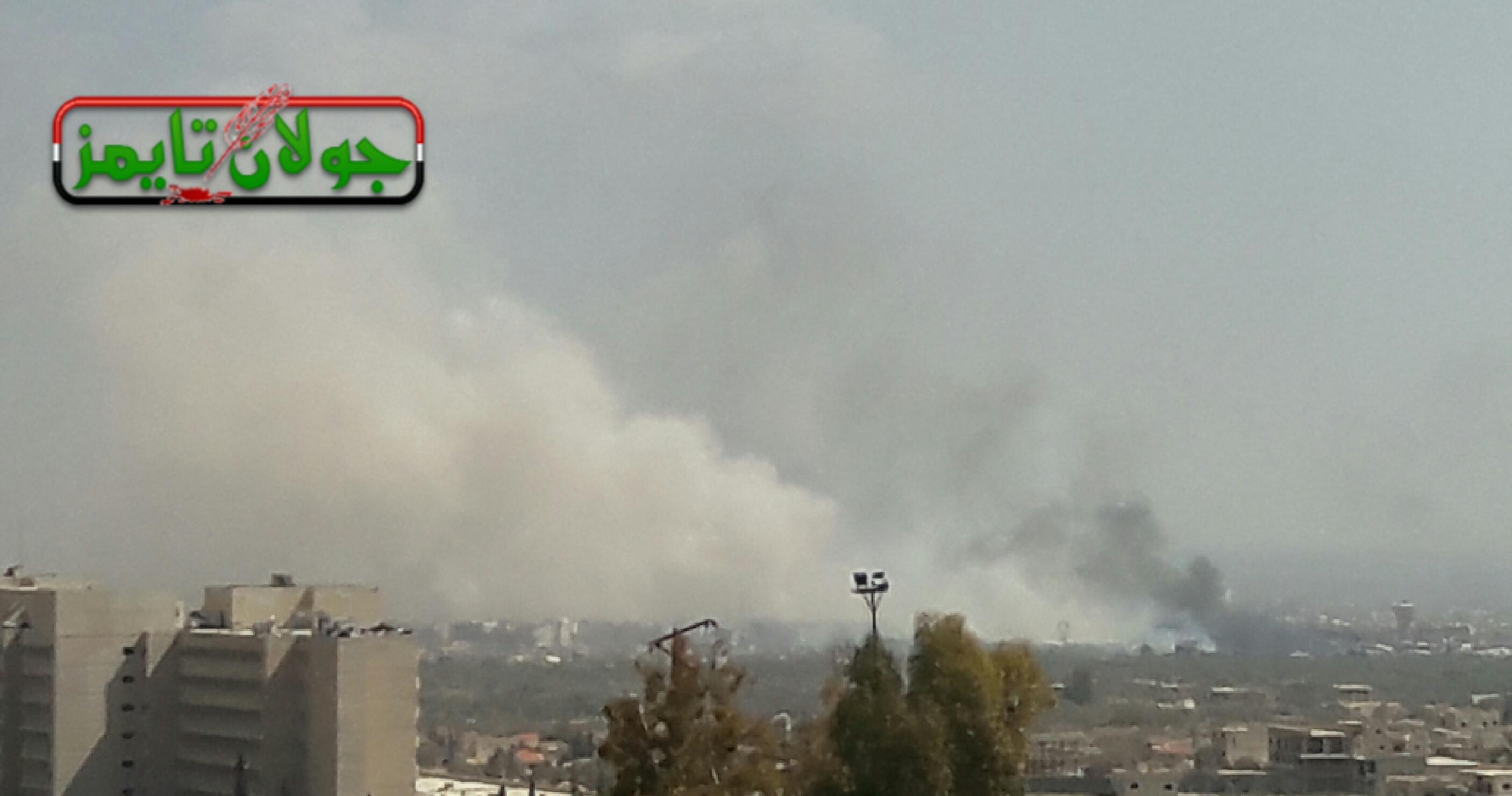"""Photo of (فيديو) عمليات """"أسود النصر"""" بمديرا وحرستا"""