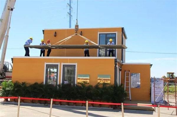 Photo of (فيديو) بناء منزل بأقل 24 ساعة