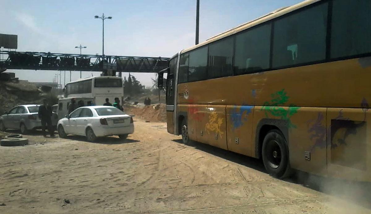 Photo of رسمياً.. جلاء أخر إرهابي من حرستا