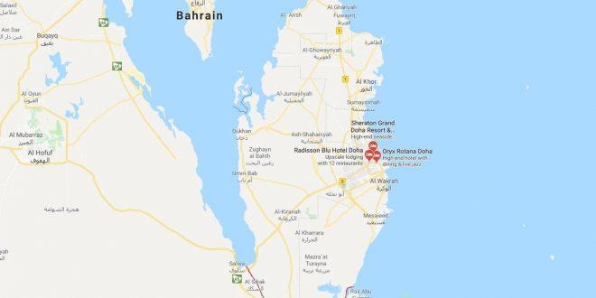 """Photo of السعودية تُخطط لتحويل""""قطر"""" إلى جزيرة"""