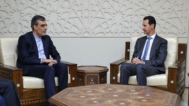 Photo of الأسد يستقبل جايري ويبحث وضع المنطقة