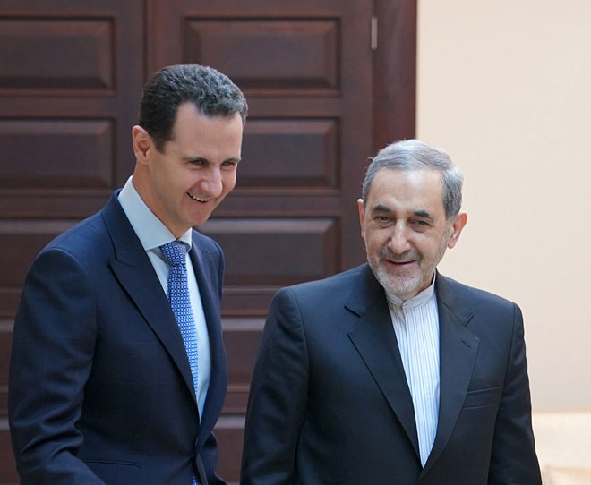 Photo of President al-Assad receives Velayati