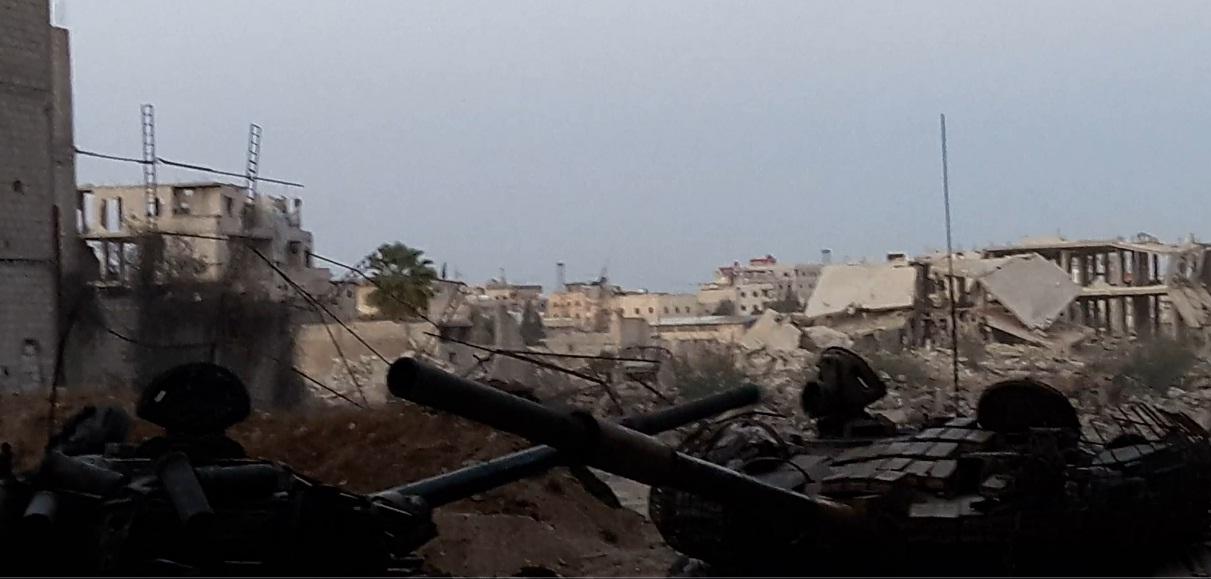 Photo of توثيق معارك الجيش ضد داعش جنوب دمشق (فيديو)