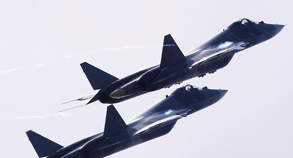 Photo of مقاتلات الجيل الخامس تظهر في سماء موسكو في عيد النصر