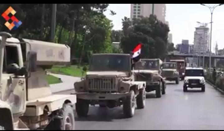 Photo of بعدها تحريرها.. الجيش يسحب مدرعاته من الغوطة الشرقية