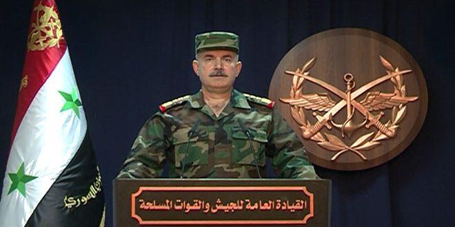 Photo of قيادة الجيش تٌعلن تحرير مدينة دوما