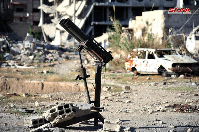 Photo of Jaish al-Islam terrorists resume attacking Damascus, 6 martyred and 37 injured