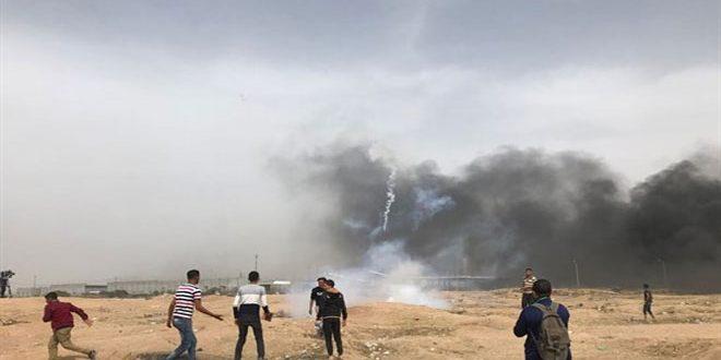 Photo of 4 شهداء و500 مصاب برصاص الاحتلال الاسرائيلي في غزة