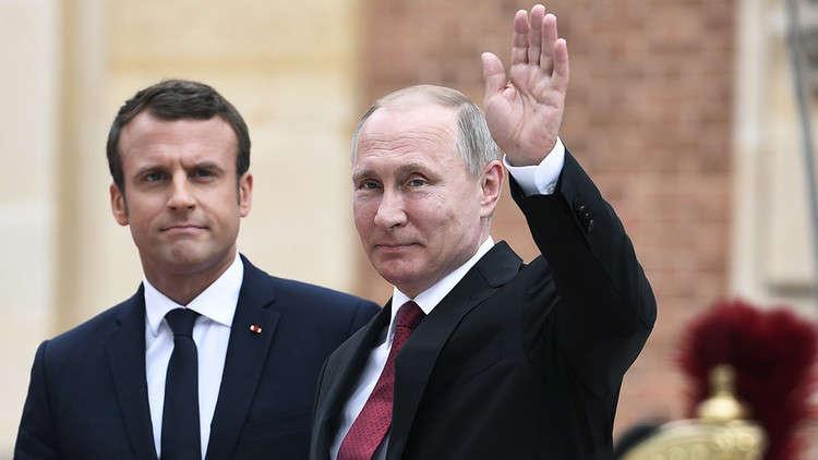 Photo of بوتين يحذر ماكرون أي أعمال غير مدروسة وخطيرة في سوريا