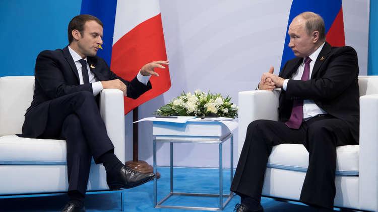 "Photo of ماكرون يعترف.. ""بوتين"" رجل قوي"