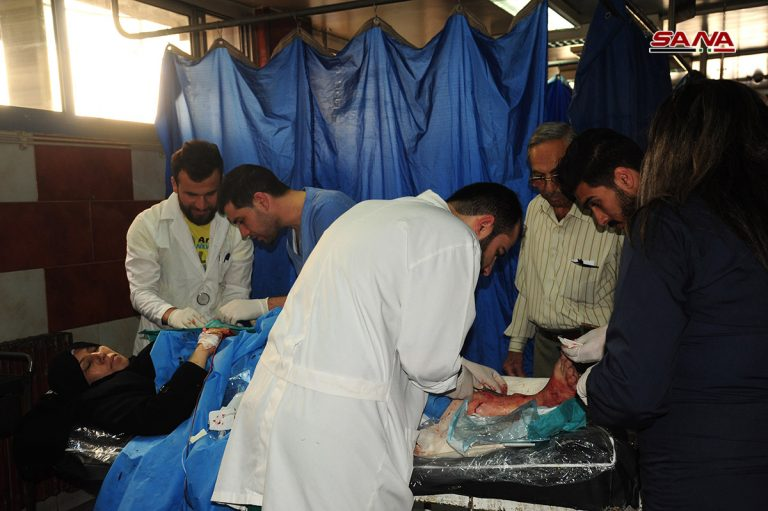 Photo of Ten injured by terrorists' shells in Quneitra province