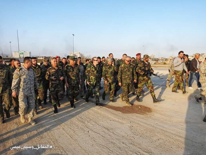 """Photo of لحظة الأولى لدخول الجيش لـ """"جوبر و زملكا وعربين"""""""