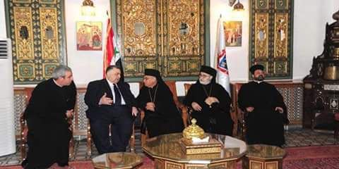 Photo of Speaker Sabbagh visits heads of Christian denominations on occasion of Easter