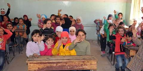 Photo of Damascus Countryside Education Directorate: Nearly 12,000 students return to schools in Damascus Countryside towns
