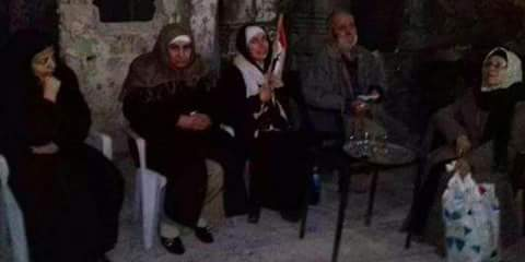 """Photo of Five abductees that had been held by """"Jaish al-Islam"""" terrorists in Douma liberated"""
