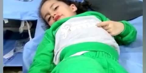 Photo of Five children injured in terrorist shelling attack in Daraa