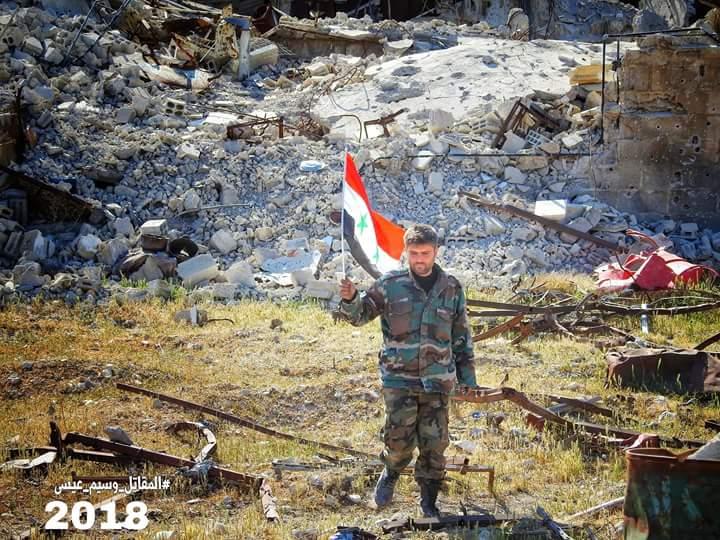 Photo of روسيا: تم رفع العلم السوري بدوما