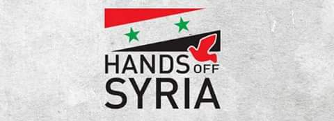 "Photo of ""Hands off Syria"" calls for demonstration in rejection of any possible aggression against Syria"