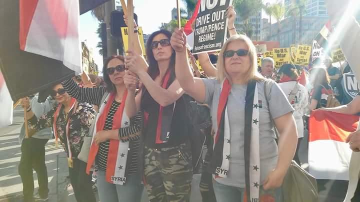 Photo of من لوس انجلوس لا للحرب علي سوريانا (فيديو- صور)