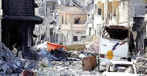 Photo of Widespread destruction in Raqqa bears witness to Coalitions' barbarity