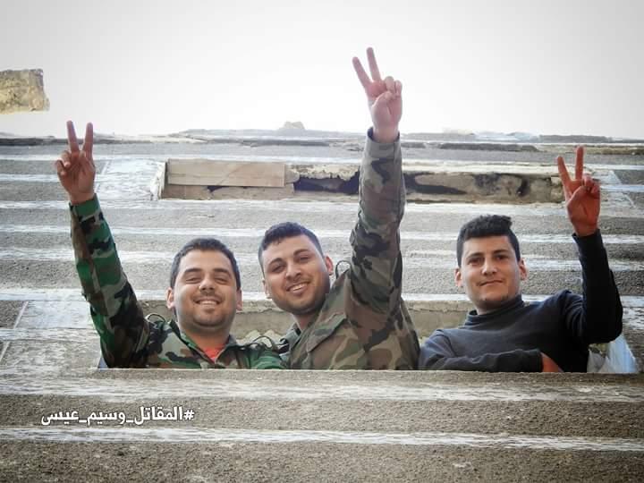 """Photo of صور من خطوط القتال الأولى بجبهة """"جنوب دمشق"""""""