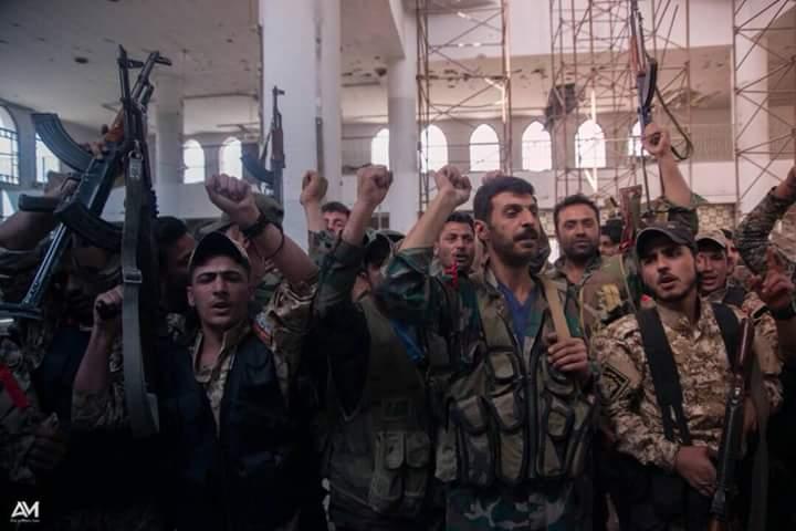 "Photo of تطورات معركة تحرير ""جنوب دمشق"""