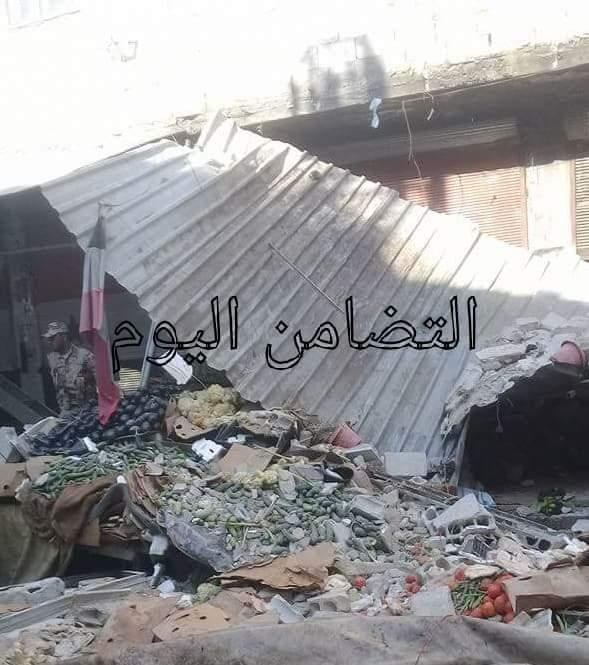 """Photo of شهيدة و12 جريح بقذائف إرهابية على """"حي التضامن"""""""