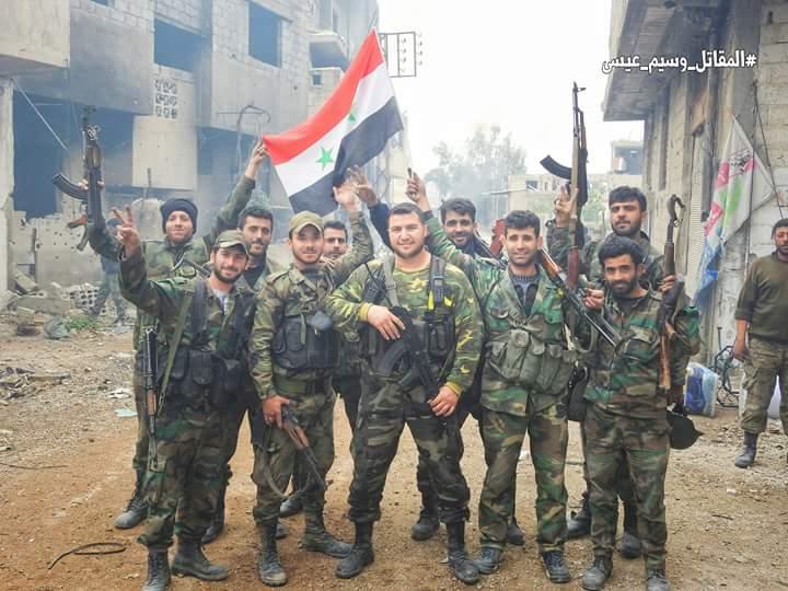 Photo of بالصور- كسر خطوط داعش بالمأذنية و العسالي جنوب دمشق