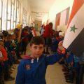 """رسالة حب من """"أطفال حضر"""" للجيش العربي السوري"""