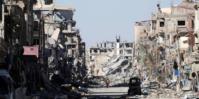 Photo of الأمم المتحدة: 80 ٪ من الرقة مدمرة