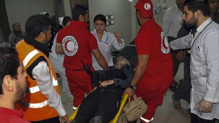 Photo of الأركان الروسية: لم يدخل أي شخص جراء إصابته بغاز السارين والكلور إلى مستشفى دوما